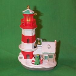 1997 Lighthouse Greetings #1 Hallmark Ornament