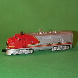 1997 Lionel Train #2 - Santa Fe Hallmark Ornament