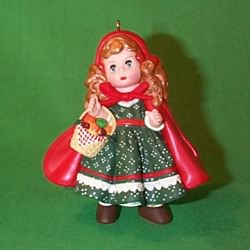 1997 Madame Alexander #2 - Little Red Riding Hood - SDB Hallmark Ornament