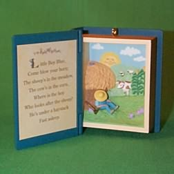 1997 Mother Goose #5f - Little Boy Blue Hallmark Ornament