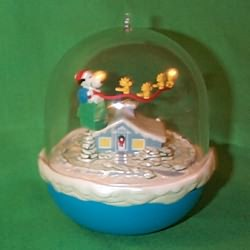 1997 Snoopy - Lighted Hallmark Ornament