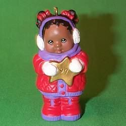 1997 Snowgirl Hallmark Ornament