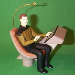 1997 Star Trek - Commander Data Hallmark Ornament