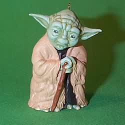 1997 Star Wars - Yoda Hallmark Ornament