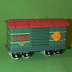 1997 Yuletide Central #4 - Toy Car Hallmark Ornament
