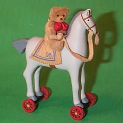 1998 A Pony For Christmas #1 Hallmark Ornament