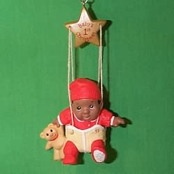 1998 Baby's 1st Christmas - Swing Hallmark Ornament