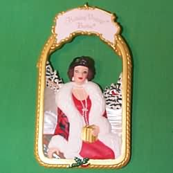 1998 Barbie - Holiday Homecoming #2 Hallmark Ornament