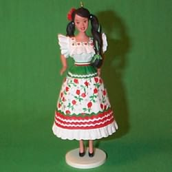 1998 Barbie - Mexican #3 Hallmark Ornament