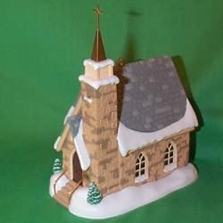 1998 Candlelight Services #1 - Stone Church Hallmark Ornament