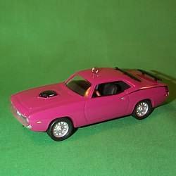 1998 Classic Cars #8 - Cuda Hallmark Ornament
