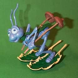 1998 Disney - Bug's Life  Flik Hallmark Ornament