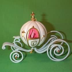1998 Disney - Cinderella Coach Hallmark Ornament