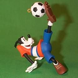 1998 Disney - Goofy Soccer Hallmark Ornament