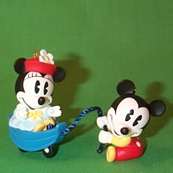 1998 Disney - Make Believe Boat Hallmark Ornament