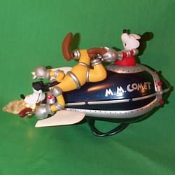 1998 Disney - Mickey's Comet Hallmark Ornament