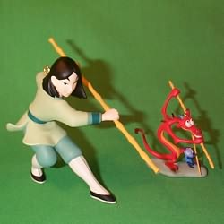 1998 Disney - Mulan Hallmark Ornament
