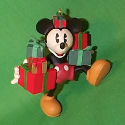1998 Disney - Ready For Christmas #2 Hallmark Ornament