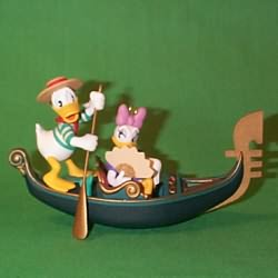 1998 Disney - Romantic Vacation #1 Hallmark Ornament