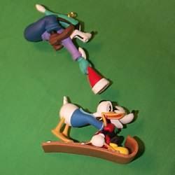 1998 Disney - Runaway Toboggan Hallmark Ornament
