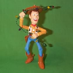 1998 Disney - Toy Story Woody Hallmark Ornament