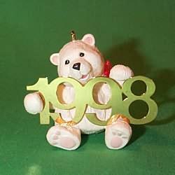 1998 Fabulous Decade #9 - Bear Hallmark Ornament