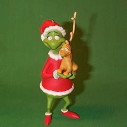 1998 Grinch Hallmark Ornament