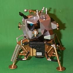 1998 Journey Into Space #3 - Lunar Module - SDB Hallmark Ornament