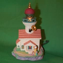1998 Lighthouse Greetings #2 Hallmark Ornament