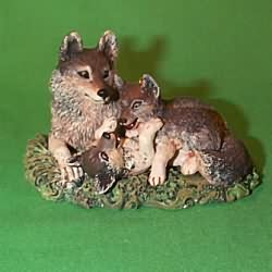 1998 Majestic Wilderness #2 - Timberwolves Hallmark Ornament