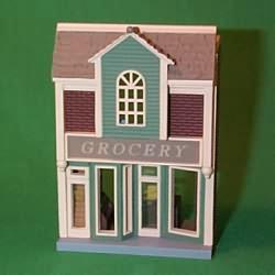 1998 Nostalgic Houses #15 - Grocery Hallmark Ornament