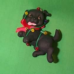 1998 Puppy Love #8 Hallmark Ornament