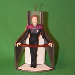 1998 Star Trek -captain Janeway Hallmark Ornament