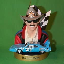 1998 Stock Car #2 - Richard Petty Hallmark Ornament