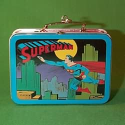 1998 Superman Lunch Box Hallmark Ornament