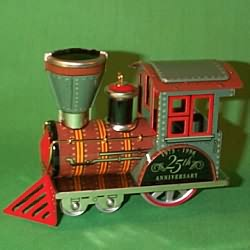 1998 Tin Locomotive-anniversary Hallmark Ornament