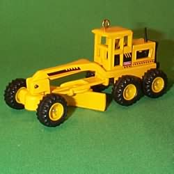 1998 Tonka - Road Grader Hallmark Ornament