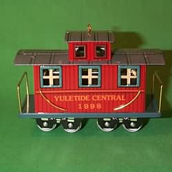1998 Yuletide Central #5f - Caboose Hallmark Ornament