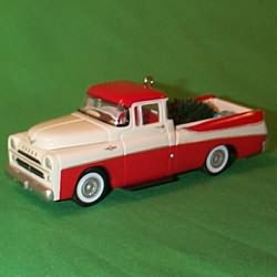 1999 All American Trucks #5 - 1957 Dodge - MNT Hallmark Ornament