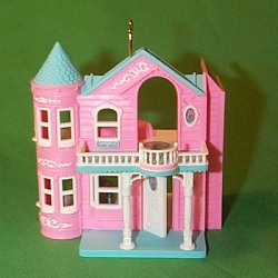 1999 Barbie Doll Dreamhouse Hallmark Ornament