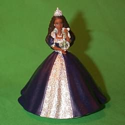 1999 Barbie - Millenium Princess - Af Hallmark Ornament