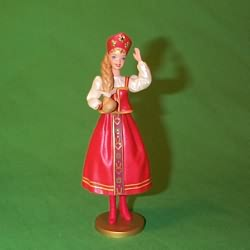 1999 Barbie - Russian #4 Hallmark Ornament