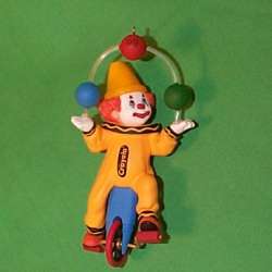 1999 Crayola - Clownin' Around Hallmark Ornament