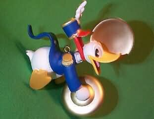 1999 Disney - Donald Plays The Cymbals Hallmark Ornament