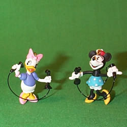 1999 Disney - Girl Talk Hallmark Ornament
