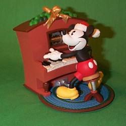 1999 Disney - Piano Player Mickey Hallmark Ornament