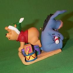 1999 Disney - Presents From Pooh Hallmark Ornament