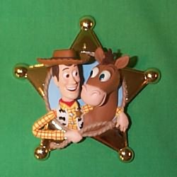 1999 Disney - Woody's Roundup Hallmark Ornament