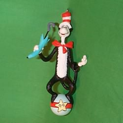 1999 Dr Seuss #1 - Cat In The Hat Hallmark Ornament
