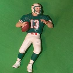 1999 Football #5 - Dan Marino Hallmark Ornament